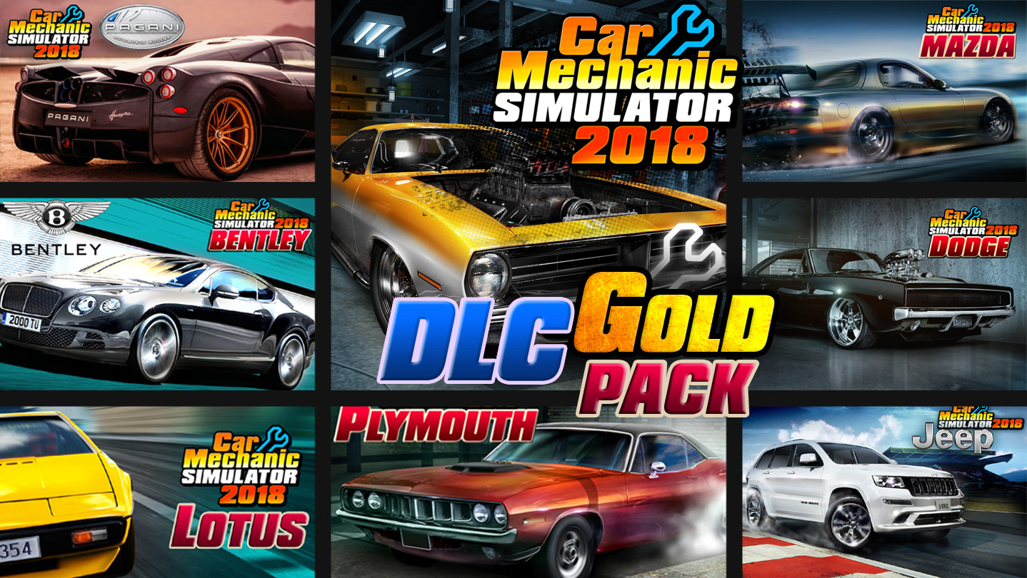 PlayWay - Car Mechanic Simulator 2018 - Gold Edition