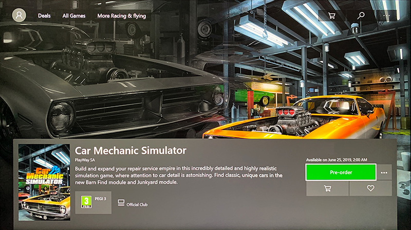 PlayWay - Car Mechanic Simulator 2018 - X1/PS4 --> 25 6 2019